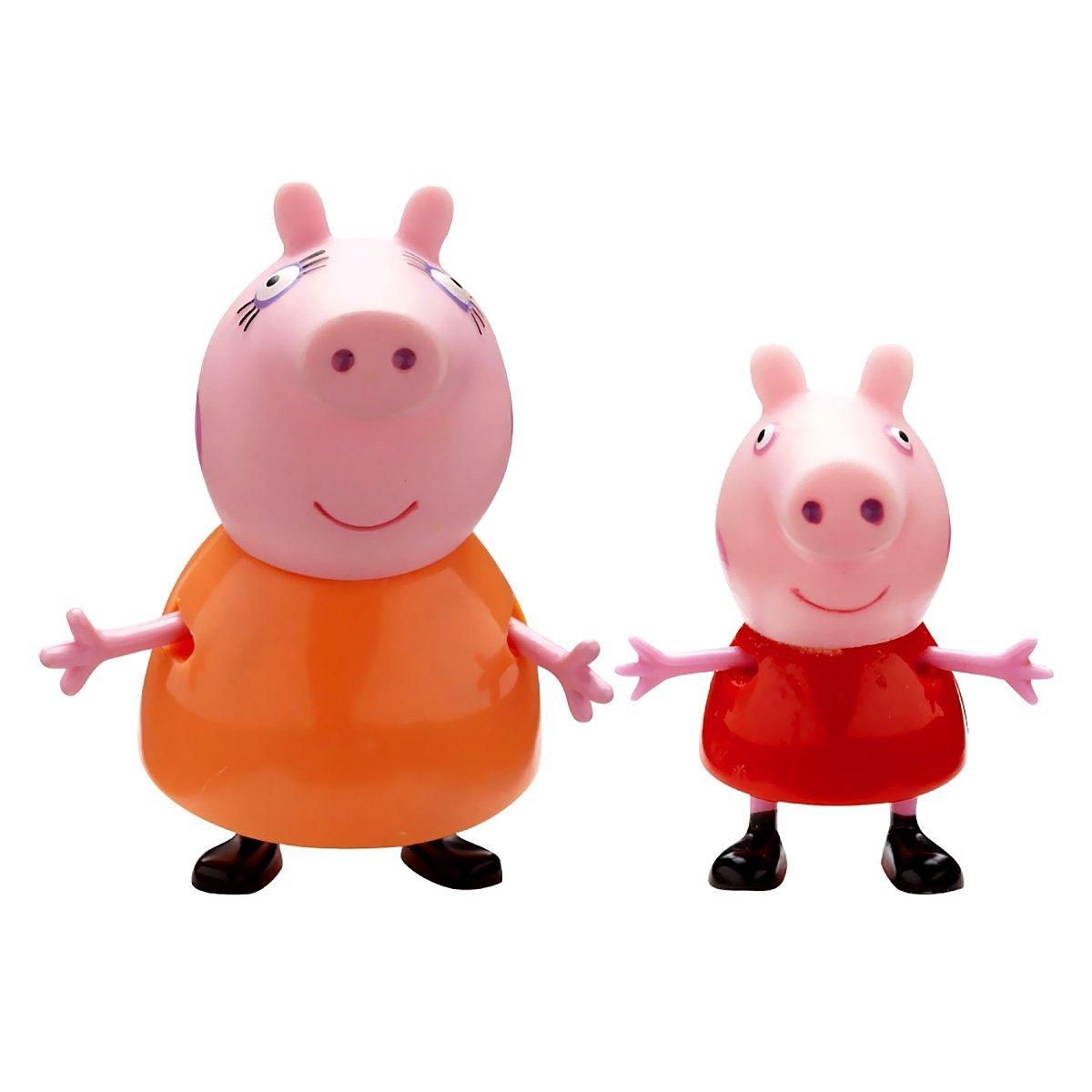 Peppa pig blister 2 figurines king jouet maroc - Jeux de papa pig ...