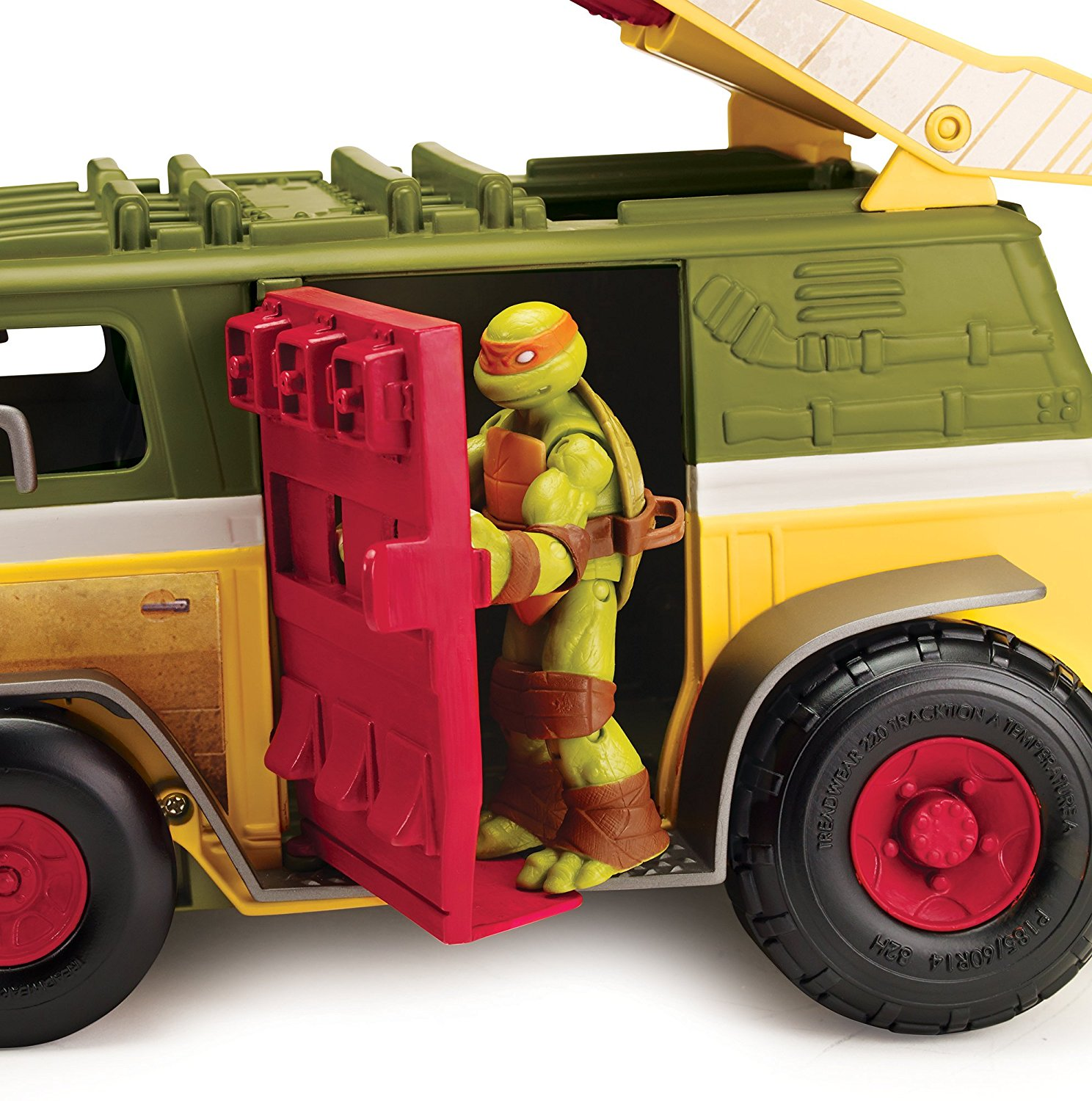 Figurine animation transformable camion de combat king - Tortue ninja camion ...