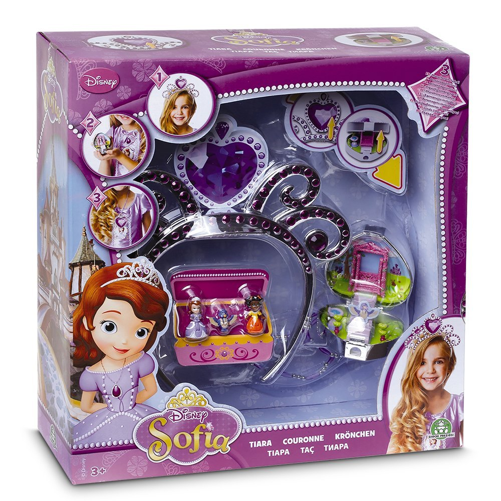 Princesse sofia couronne magic 3 en 1 3 figurines king - Couronne princesse disney ...