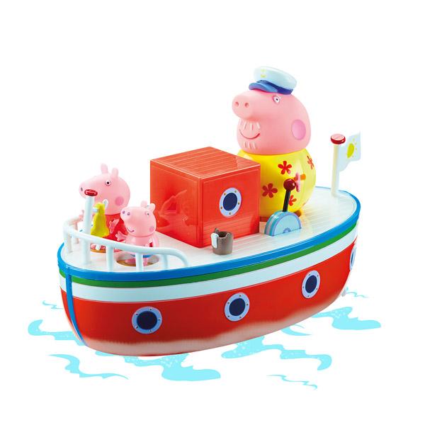 peppa pig vacances bateau 3personnage king jouet maroc. Black Bedroom Furniture Sets. Home Design Ideas