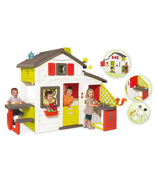 friends house cuisine t smoby king jouet maroc. Black Bedroom Furniture Sets. Home Design Ideas