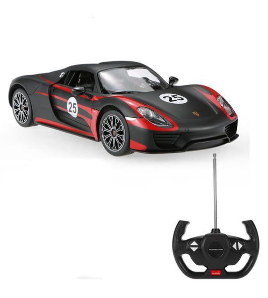 Spyder Voiture Radiocommandée Porsche Rastar Weissach 918 rxQCBeWdo