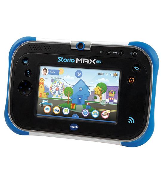 tablette storio max 2 0 5 bleu vtech king jouet maroc. Black Bedroom Furniture Sets. Home Design Ideas