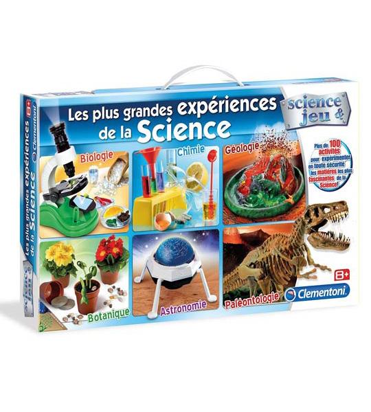 Clementoni Jeu scientifique 52107-Ma Chimie